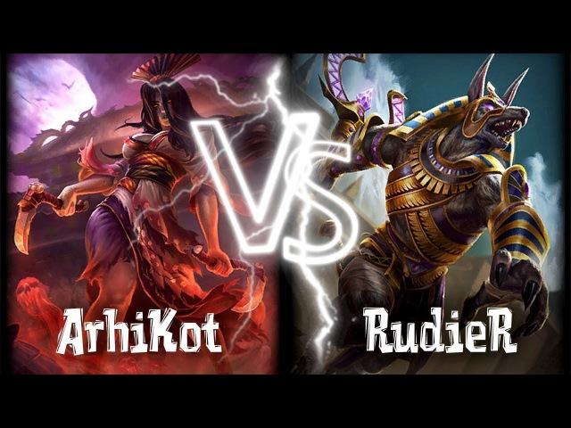 Smite Ranked Duel - Izanami vs Anubis