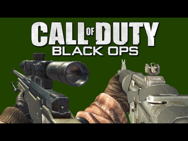 Call of Duty: Black Ops - All Weapons Showcase [60 FPS]