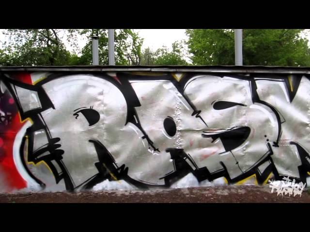 Unstoppable Rasko. Graffiti Street Art Moscow