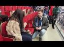 Неожиданное предложение руки и сердца на матче Адмирал - Сибирь 17.11.2016