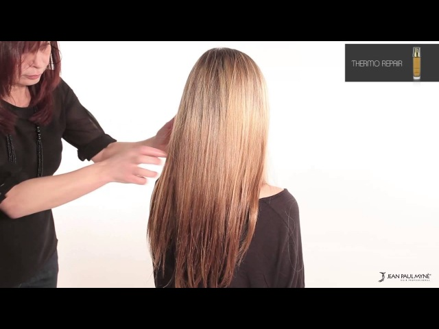 EN - Thermo Repair - Hair and split ends repair treatment - Jean Paul Mynè
