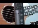 Audix Microphones Acoustic Guitar Miking Demo CX212B Large Diaphragm Microphone