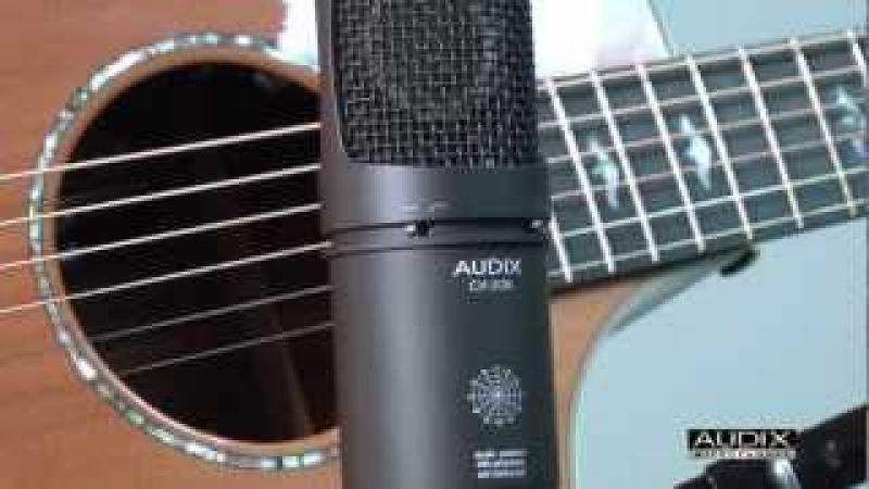 Audix Microphones - Acoustic Guitar Miking Demo - CX212B Large Diaphragm Microphone