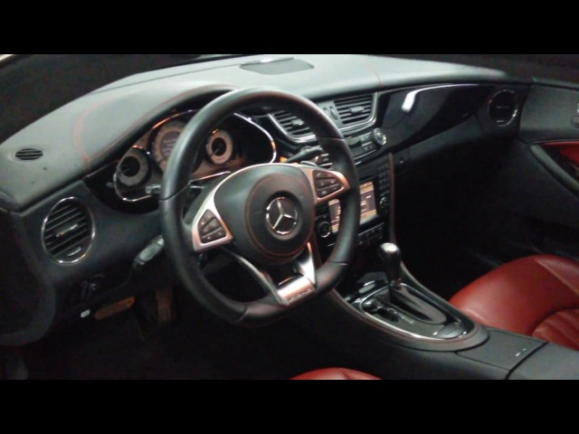 Салон Mercedes CLS W219