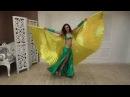Наталья восточный танец с крыльями