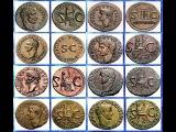 Монеты Римской Империи, Цезарь Тиберий, Часть 4, Coins of the Roman Empire, Caesar Tiberius, Part 4