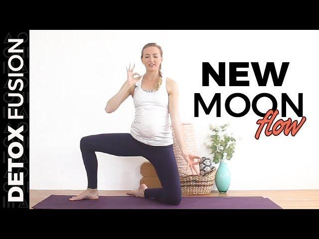 Day 17 New Moon Flow - Vinyasa Yoga, Pranayama Meditation (25-Min)