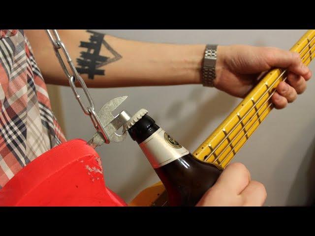 БАС-ОТКРЫВАШКА | панк-басуха серия 3 | DIY бас гитара