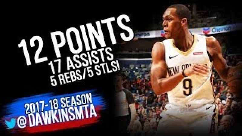 Rajon Rondo Full Highlights 2018 3 13 NO Pelicans vsHornets 12 Pts 17 Asts FreeDawkins
