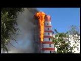 Пожар на Семашко. в Ростове на Дону, переулок Семашко, 50Б отель