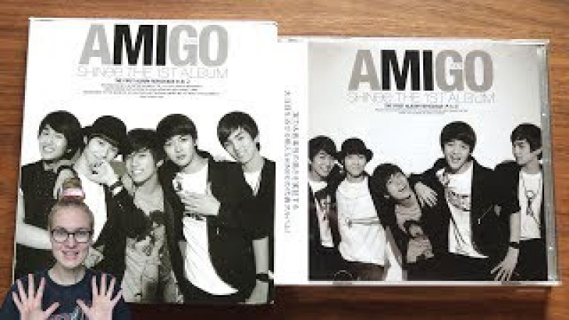 Unboxing SHINee 샤이니 1st Korean Studio Album Repackage Amigo 아.미.고 (Korean Japanese Edition)
