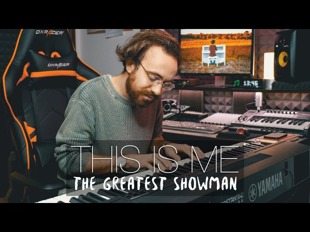 This Is Me The Greatest Showman ft Keala Settle Piano Cover Costantino Carrara