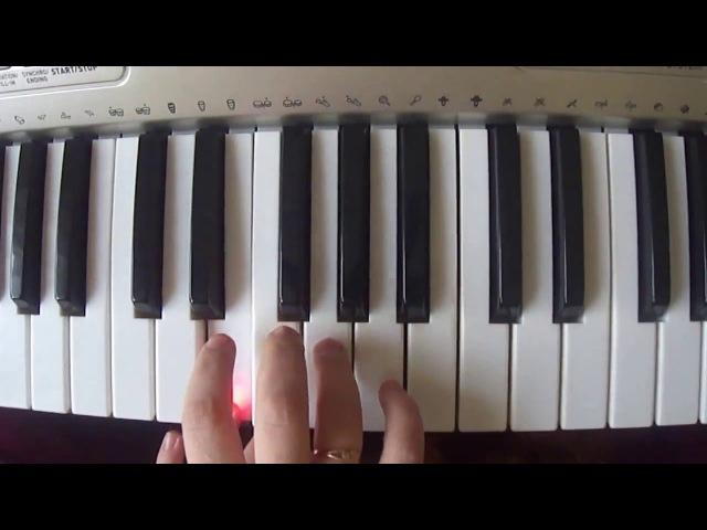 №151 Песенка крокодила Гены Пусть бегут неуклюже (партия ученика) ноты для фортепиано 1 класс.