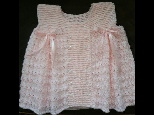 Kız Bebek Yelek Modelleri - Baby Girl Knitted Vests