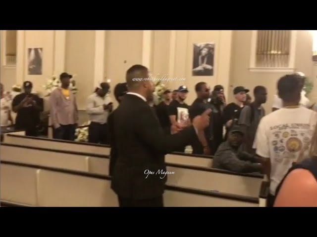 Prodigy Funeral [Full Video] with L.L Cool J, Remy Ma, Ice T, Foxy Brown, Fat Joe, Louis Farrakhan