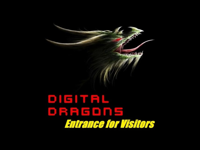 Digital Dragons - Entrance for Visitors