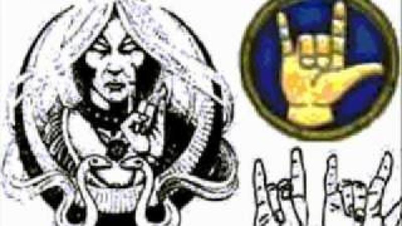 The sign of Satan Mason Знак Сатаны Масоны