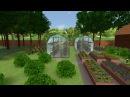 Ландшафтный дизайн визуализация проекта участка