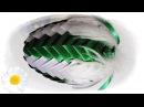 Jajko wielkanocne ze wstążki i piór 🐣 jak wykonać 🐣 krok po kroku 🐣 29