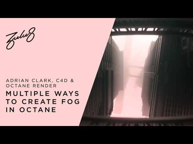 How To Create Fog In Octane Cinema 4D