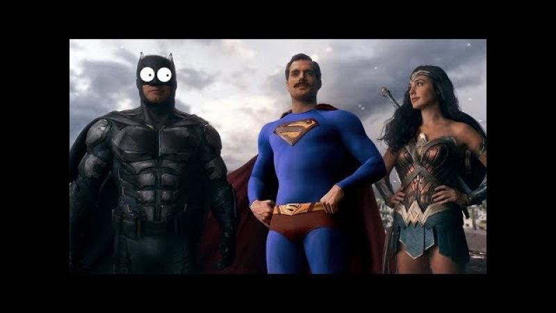 Лига справедливости за 5 минут (Переозвучка, смешная озвучка, не Гоблин)