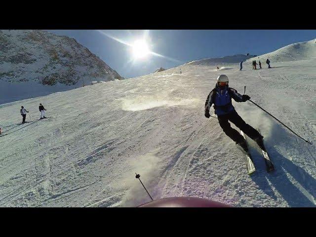 Горные лыжи Австрия Зёльден 2018 Skiing Austria Sölden