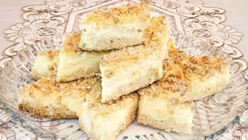Творожный пирог «Королевская запеканка», простой и вкусный рецепт!