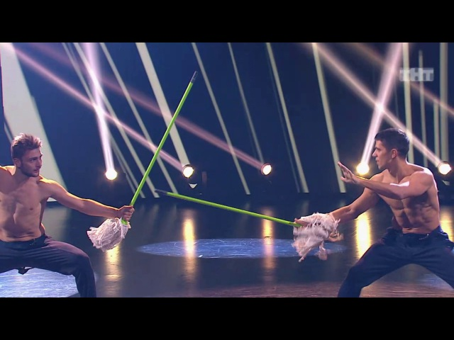 Танцы Виталий Уливанов и Александр Крупельницкий (Missy Elliott - Pump It Up) (сезон 4, серия 22)