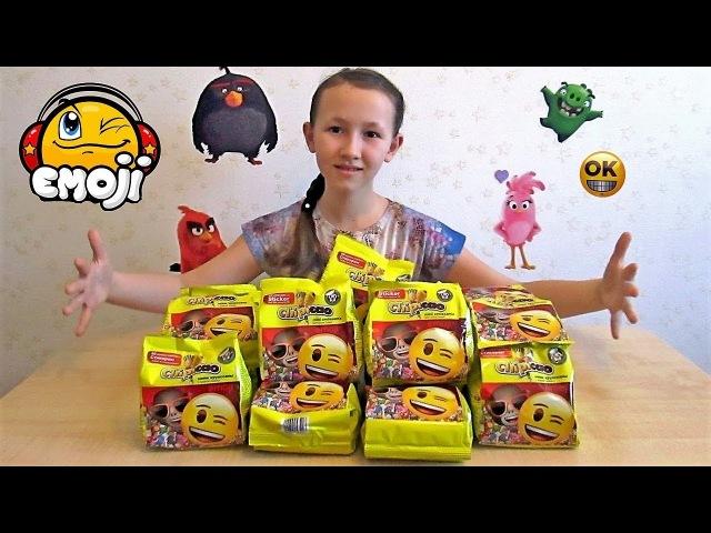 Фишки со Стикером ЭМОДЖИ от Чипикао Новая Коллекция Chipicao Emoji™ Целая Коробка Круассанов