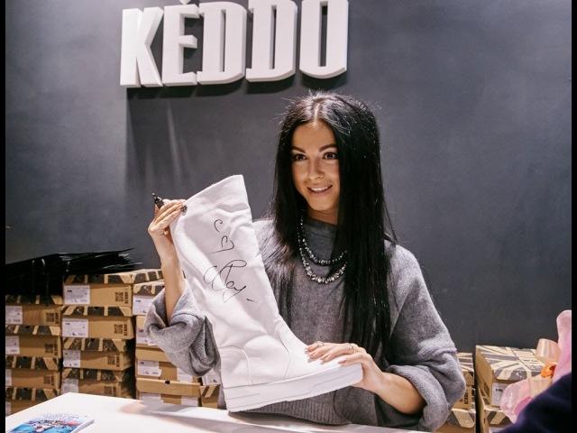 Эксклюзивная встреча с Нюшей в фирменном магазине KEDDO