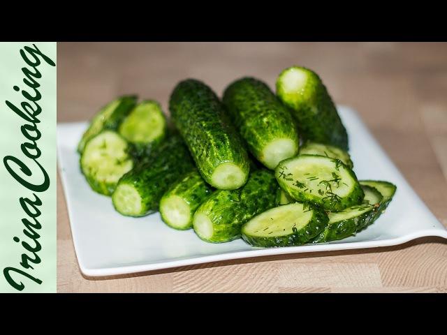 2 Рецепта Приготовления Быстрых Малосольных Огурцов 🥒 Quick Pickled Cucumbers ✧ Ирина Кукинг