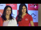 PC With Katrina Kaif To Announce Her Association With The NGO Educate Girls