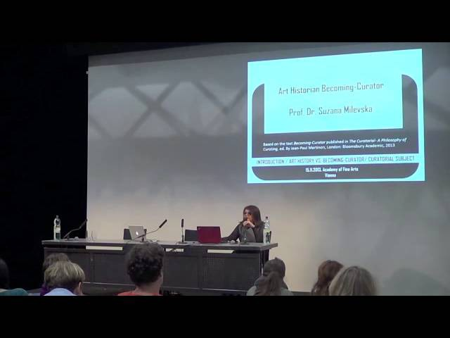 Suzana Milevska Ruth Noack How to become a curator