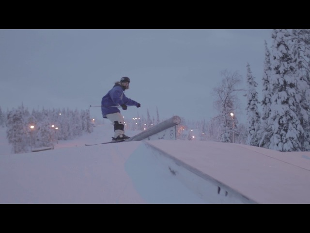 Kevin Salonius Christian Strömberg @ Iso-Syöte SnowPark tammi2018
