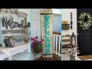 ❤ DIY Shabby Chic Style Front Porch Welcome Signs ❤ Home decor Interior design Flamingo Mango