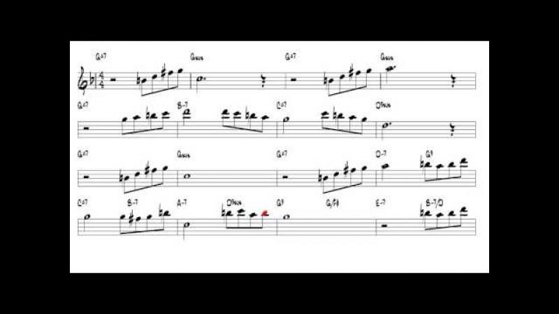 Beauty and the Beast Allan Menken Tenor Sax