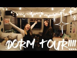DORM TOUR!!!!