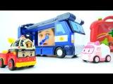 Видео с машинками - Робокар Поли на осмотре у Доктора Ой