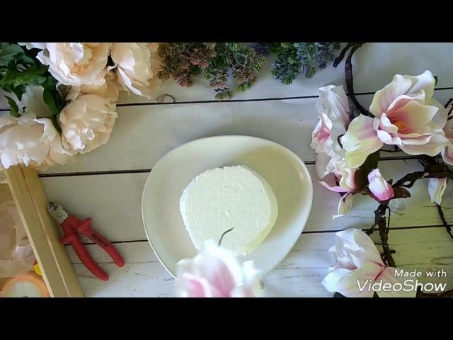 Мастерская Альфии 🌸 Сборка цветочной композиции из магнолии и полевых цветов