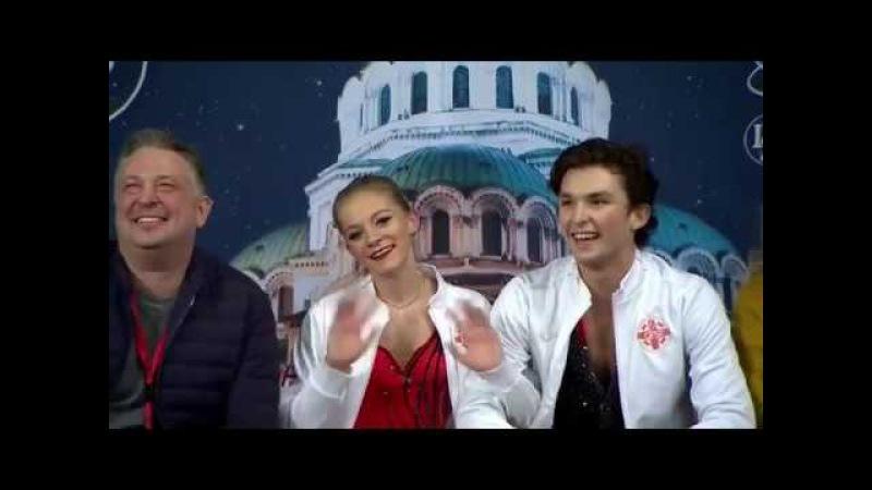 Maria KAZAKOVA / Georgy REVIYA GEO Short Dance World Junior Championships 2018
