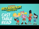 The Jungle Movie Cast Table Read | Hey Arnold! | Nick Animation