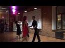 Новогодняя румба - группа по бальным танцам