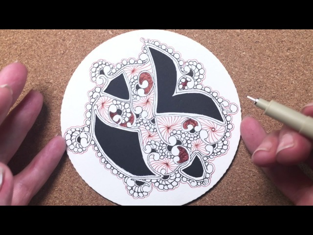 Zentangle® Project Pack 02 -- Day Five