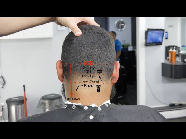 Barber Tutorial for beginners How To do a Bald Taper Andis Master