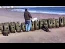 В Америке Лики славянских богов на пляже Нью Йорка