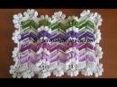Zikzaklı Pıtırcık Lif ve Battaniye Modeli
