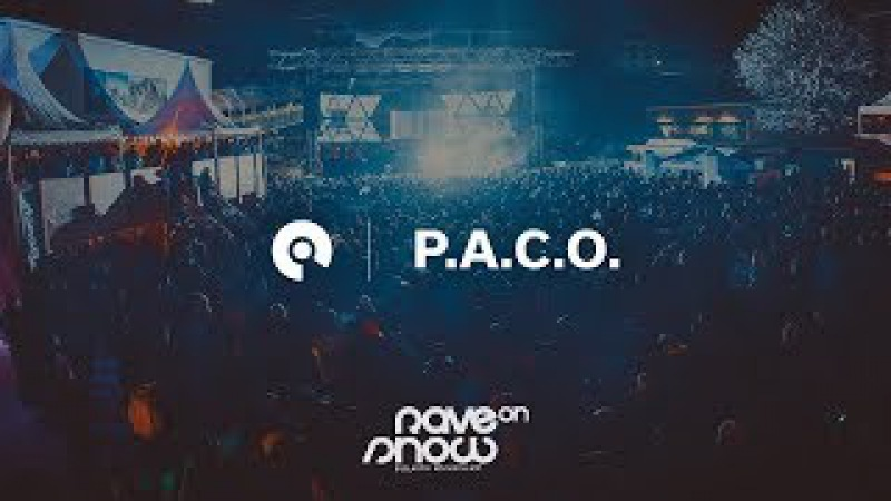 P.A.C.O. - Rave On Snow 2017 (BE-AT.TV)