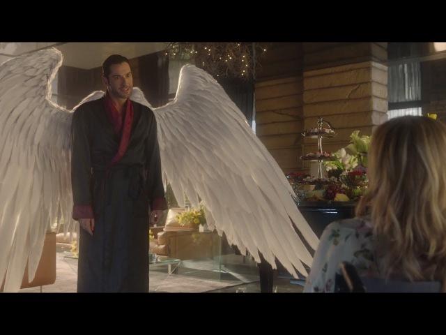 Люцифер 3 сезон 1 серия. Люцифер просит у Линди отрезать ему крылья