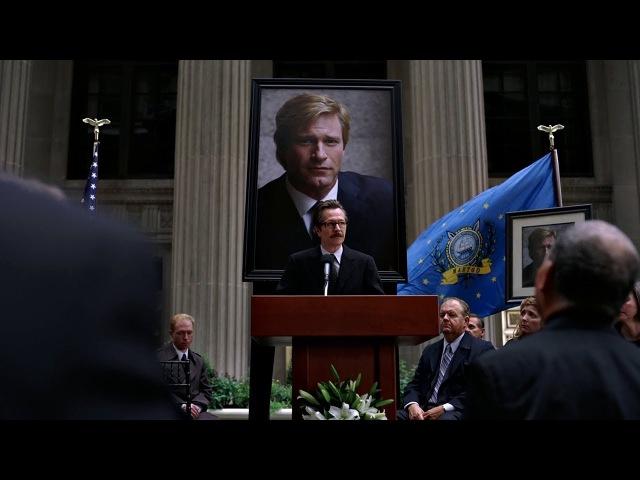Джокер победил. Работа Харви, всё, за что он боролся, насмарку. Темный рыцарь. 2008