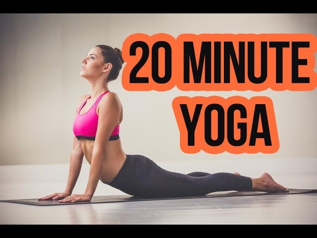 20 Minute Yoga: Total Body Tone with Weights (By Sara Ivanhoe)